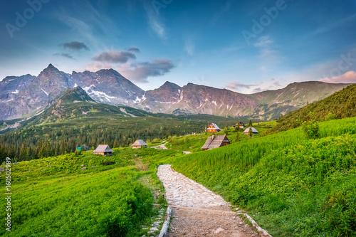 Zdjęcia na płótnie, fototapety na wymiar, obrazy na ścianę : Tatra mountains landscape, Hala Gasienicowa