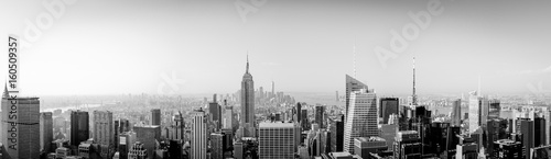 Panorama New York City from above with Empire State Building © Dennis