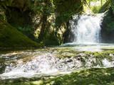 Waterfalls in nature