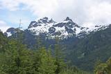Mountains above Whistler, Canada