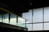 Glass interior with balcony - 160577557