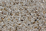 The texture of sand and stone