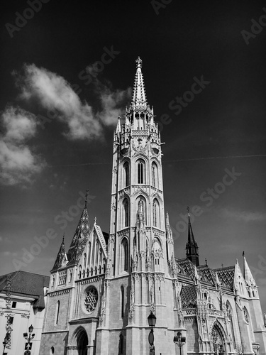 Church Architectural Details in Budapest.