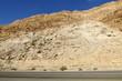 пустынный берег Мертвого моря на территории государства Израиль