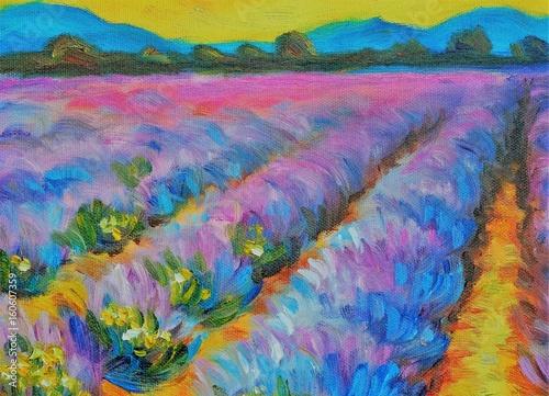 beautiful-lavender-field-at-sunset