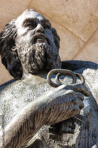 Detalle Estatua de San Pedro Poster