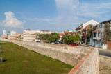 Fortification walls of Cartagena, Colombia