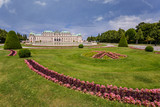 Belvedere Palace and flower garden, Vienna, Austria
