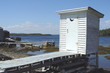 Outhouse by the Sea