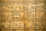 Papyrus of old ancient egyptian book of dead - 160772553
