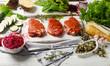 Marinated pork steaks - 160788183