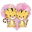 Two cute Tigers