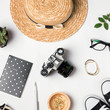 Stylish summer accessories for travel