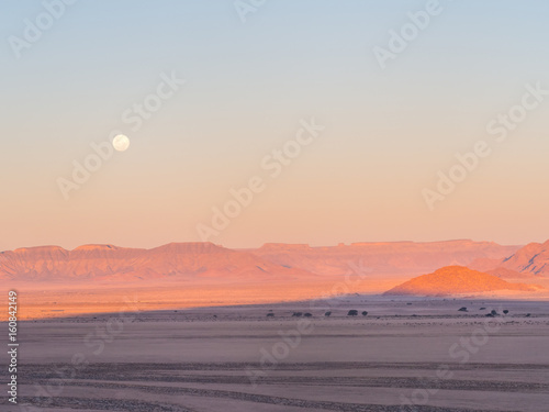 Landscape in Namib-Naukluft National Park, Namibia, Africa Tableau sur Toile