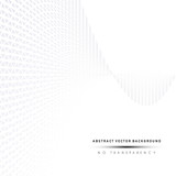 Grey dotted lines perspective background, cover design. - 160878727