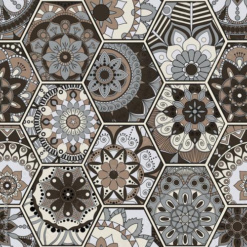 luksusowy-orientalny-dachowka-wzor-kolorowy-kwiatowy