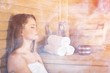 Leinwanddruck Bild - Sauna.
