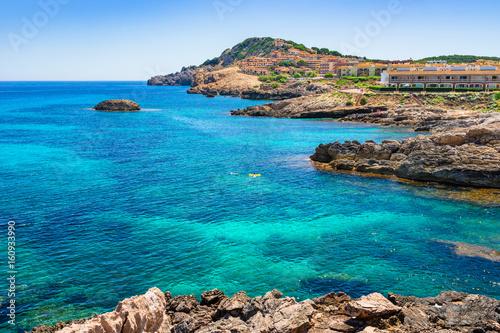 Mittelmeer Küste Spanien Mallorca Cala Ratjada