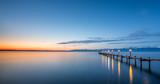 Fototapety Sonnenaufgang am Chiemsee