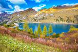 Lake Lago di Fedaia, Dolomites