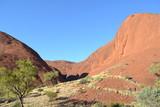 Kata Tjuta landscape and rocks