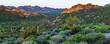Desert Morning Mountain Range