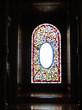 Vintage Victorian stained glass window