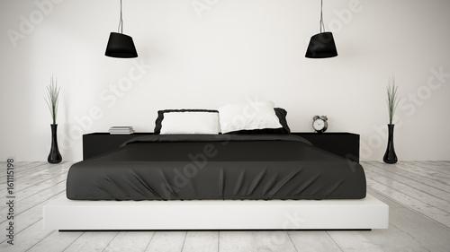 minimal bedroom - 161115198