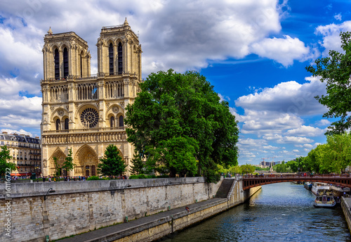 Cathedral Notre Dame de Paris in Paris, France Photo by ekaterina_belova