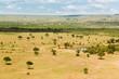 Quadro maasai mara national reserve savanna at africa
