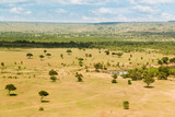 maasai mara national reserve savanna at africa