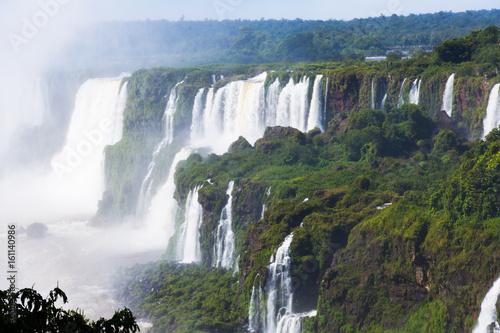 Iguazu Falls in Brazil - 161140986