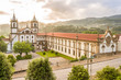 View at the Monastery Sao Bento in Santo Tirso ,Portugal