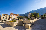 Main square, Makarska, Dalmatia, Croatia - 161150126