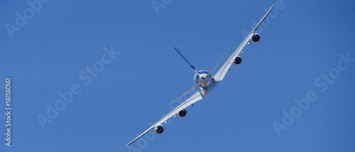 avion quadri réacteurs bannière - 161160161