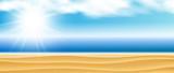 Fototapety Hintergrund Strand, Meer Himmel Sone