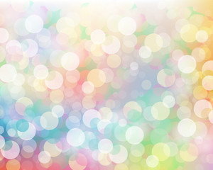colorful background of sparkles