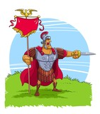 The Roman Warrior Captain or Centurion - 161263733
