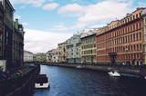 Canal. Saint-Petersburg, Russia.