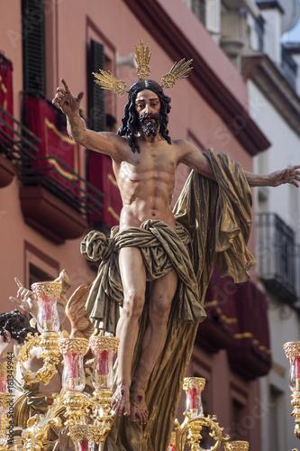 paso de misterio de la hermandad de la resurrección, semana santa de Sevilla