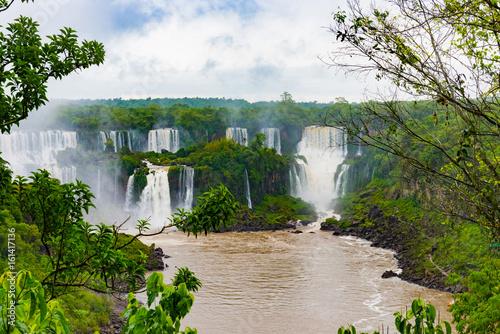 Iguassu Fall- Brazil-Argentina - 161417136
