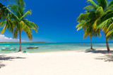 beautiful beach and tropical sea - 161421952