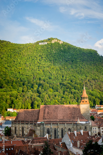 Brasov, Black Church and Tampa Hill