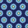 Flower pattern vector - 161460316