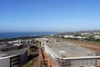 Commercial Urban Coastal Landscape Against Blue Durban City Skyline - 161480340
