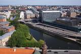 Blick auf Stockholm vom Rathausturm