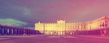 Royal Palace in evening. Madrid
