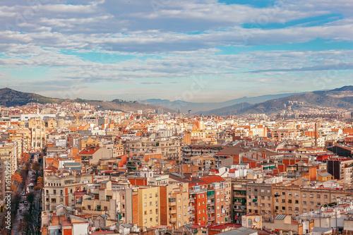 Città di Barcellona Poster
