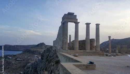 Lindos and the Acropolis Rhodes island Greece