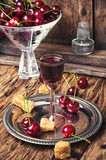 Cherry alcohol drink